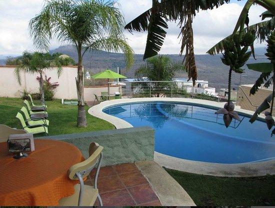 Pool at Hotel Posada Mirador