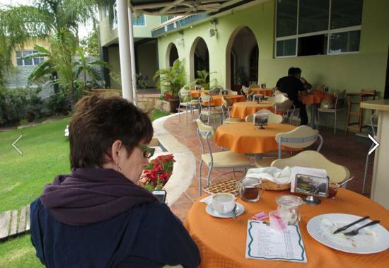 Restaurant at Hotel Posada Mirador