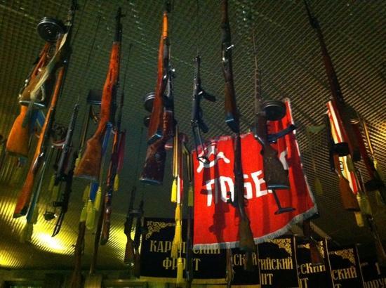 Rodina Mat (Motherland): armi