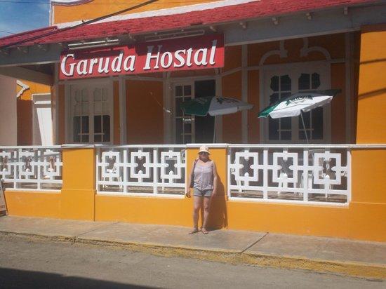 Pimentel, Perù: fachada del hosta garuda