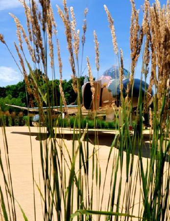 Aviation Heritage Park: Gen Cherry's Fighter Jet