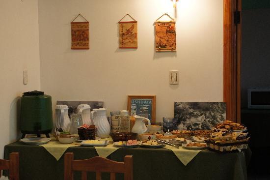 Hosteria Les Eclaireurs : Buffet du petit déjeuner