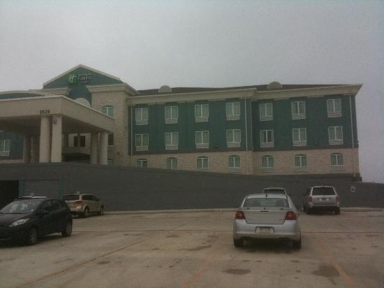 Holiday Inn Express Hotel Suites Port Lavaca Exterior View From The West