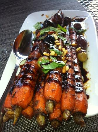 Willi's Wine Bar: carrots