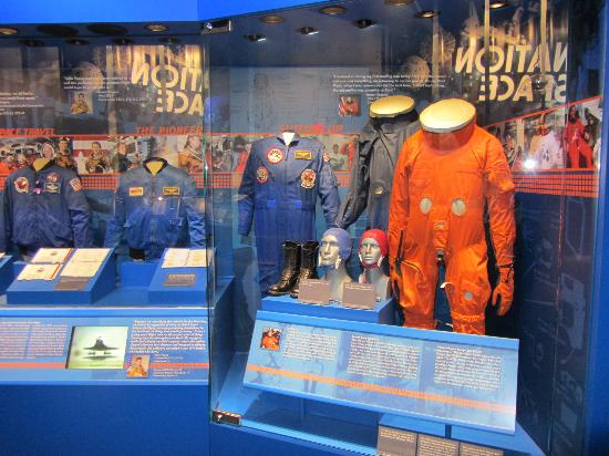 U.S. Astronaut Hall of Fame : in der Hallo of Fame
