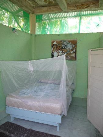 Camping Tayrona: Camas de las cabañas
