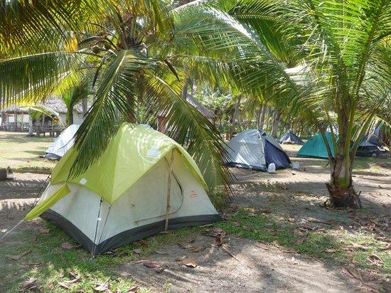 Camping Tayrona: Camping en Bukaru