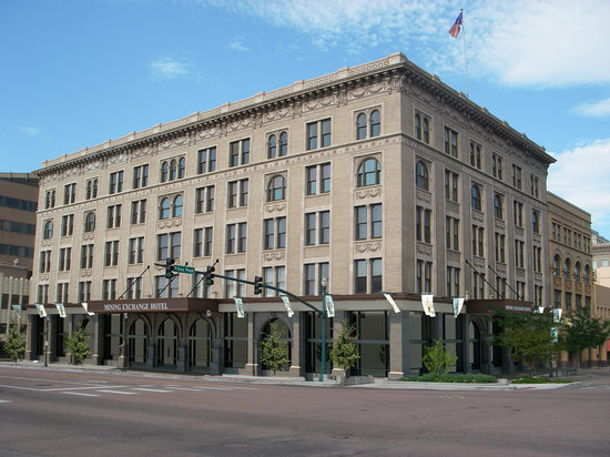 The Mining Exchange, A Wyndham Grand Hotel & Spa: The newest hotel & only boutique hotel in Colorado Springs
