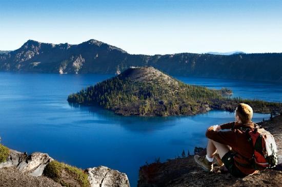 Crater Lake, Southern Oregon