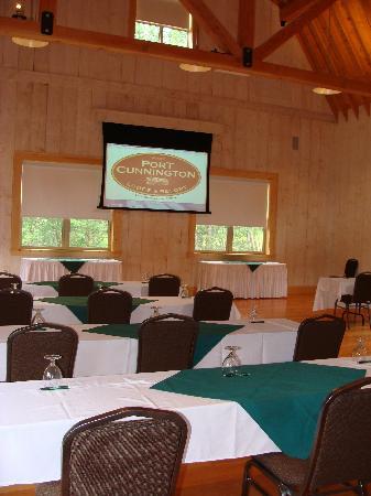 Port Cunnington Lodge & Resort: Meeting space