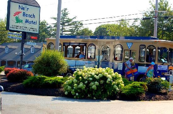 Ne'r Beach Motel : Steps away from the Wells Trolley