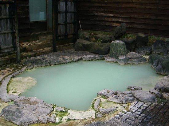 Odate, Japan: とても暖まる温泉です