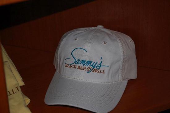 Sammy's Beach Bar & Grill: Sammy Hat