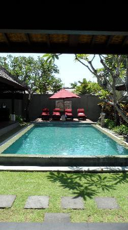 The Ulin Villas & Spa: Our gorgeous pool