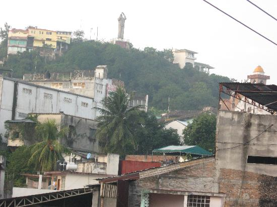 Papantla, México: from our balcony
