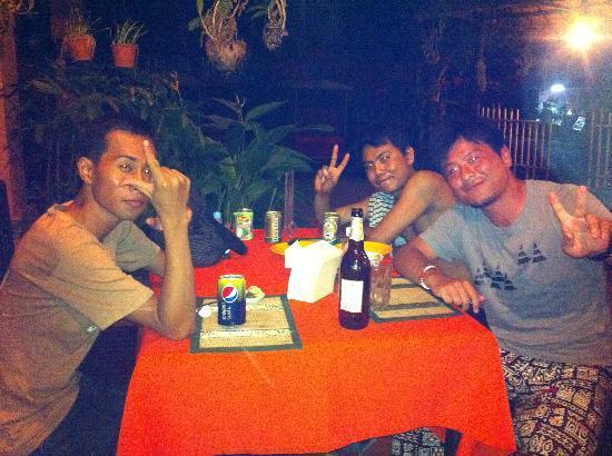 The King Angkor Villa : with Mr.PEACE and Mr.Seng