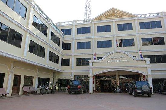 Borey Bokor : spacious carpark