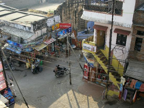 Street view from Haveli Dhan Laxmi