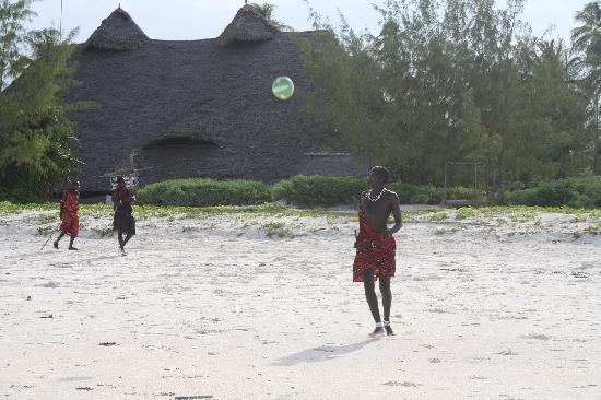Hakuna Majiwe Beach Lodge : i masai