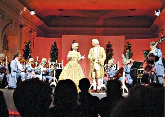 Grosse Orangerie Schloss Charlottenburg: Konzertfoto des Berliner Residenz Orchesters