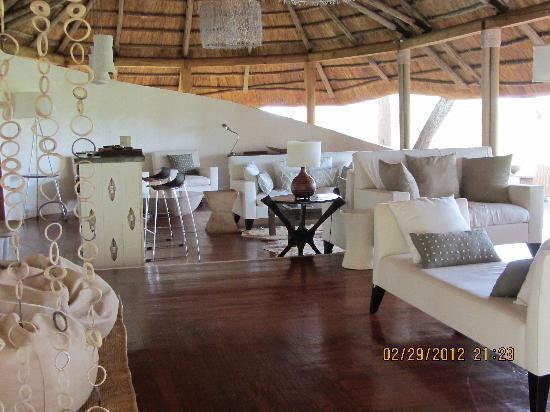 Sanctuary Swala: The common lounge area.