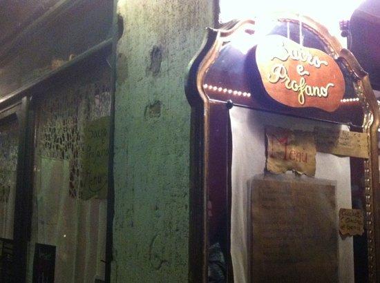 Photo of Italian Restaurant Osteria Al Sacro & Profano at Via S.polo 502, Venice 30125, Italy