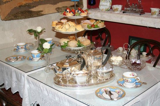 Middleton Post Office Tea Parlour : Our Full Afternoon Tea Experience