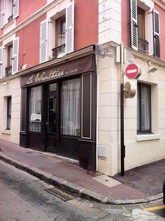 St-Germain-en-Laye, Frankreich: Façade du restaurant