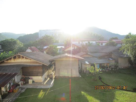 Casa Brazil Homestay & Gallery: View from the balcony