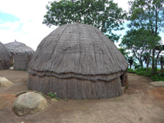 Manzini, Eswatini (Swaziland): Swazi beehive Hut