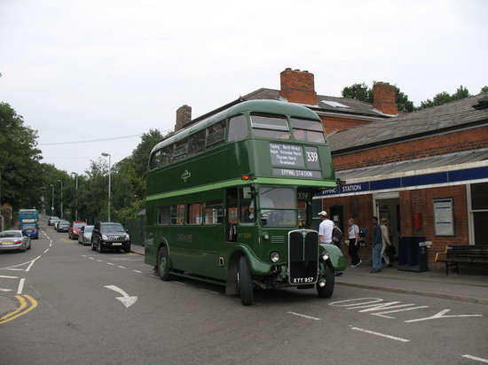 Epping Ongar Railway: Catch our connecting heritage bus service from Epping Tube station, runs each day the railway ru