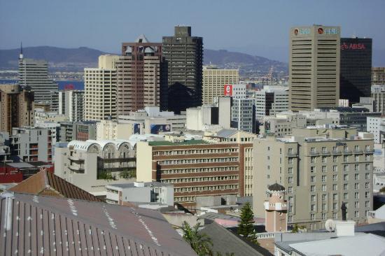 Upperbloem : La vue depuis le balcon communal
