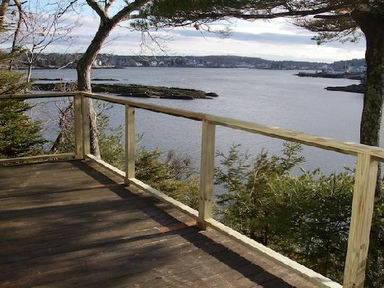 Harborfields: Signature View from the Pine Cottage