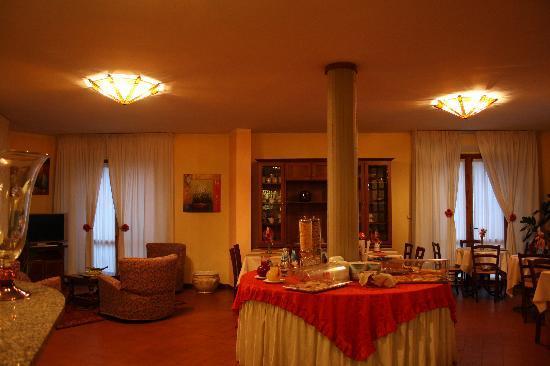 Hotel Baccio da Montelupo : la colazione