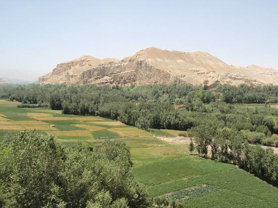 Cultural Landscape and Archaeological Remains of the Bamiyan Valley: potato harvest