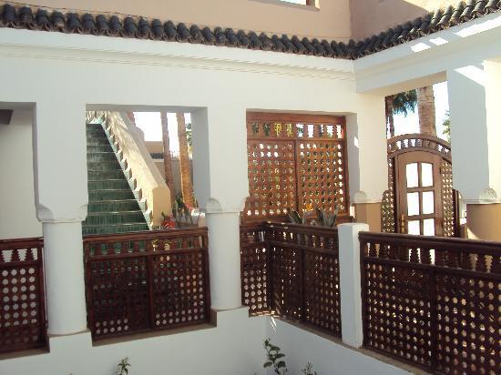 Les Jardins de la Medina: il cortile interno