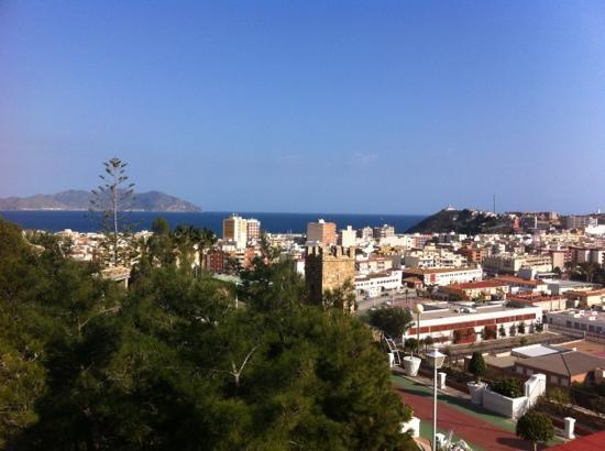 Hotel La Cumbre: vista terraza