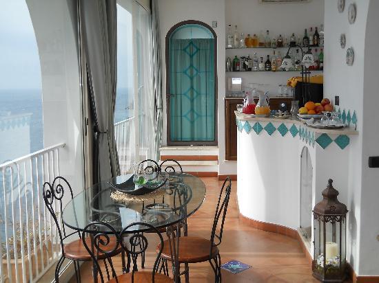 Hotel La Ninfa : sala colazione