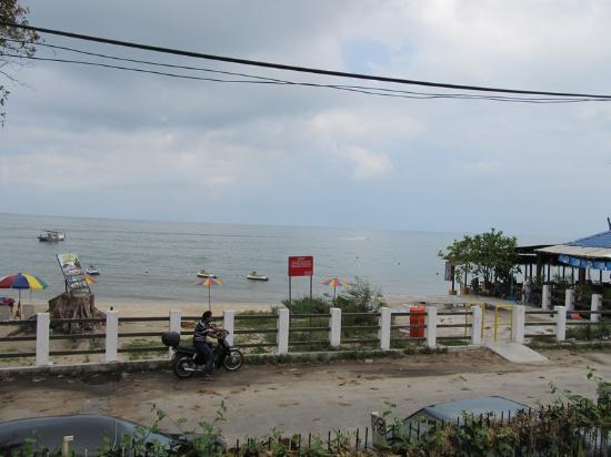 Shalini's Guest House: view from the balcony