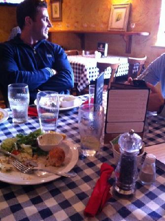 The Curragower Bar & Restaurant: Nyom nyom