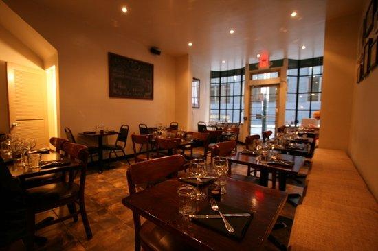 Restaurant Ducroix interior