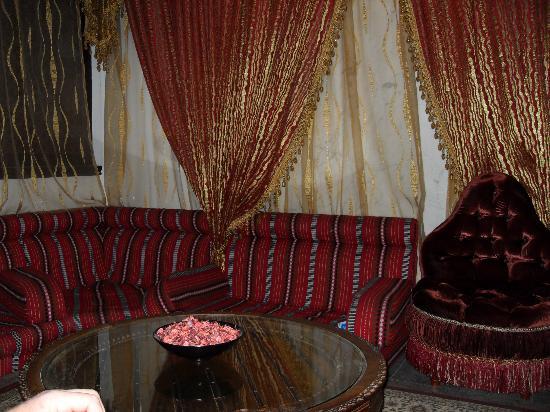 Arabian Courtyard Hotel & Spa : Area in reception