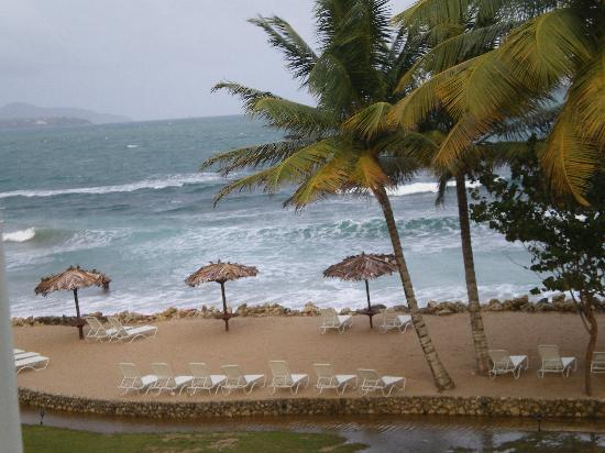 Magdalena Grand Beach & Golf Resort: This photo is the view from my room