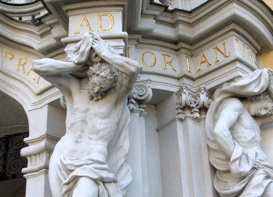 Augustiner Chorherrenstift St. Florian: Abbazia di St. Florian ingresso