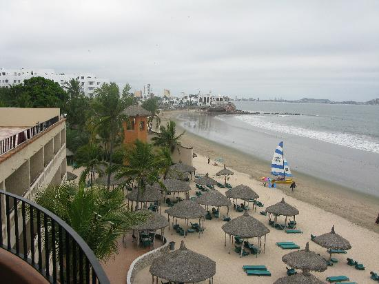 Hotel Playa Mazatlan : View from our room