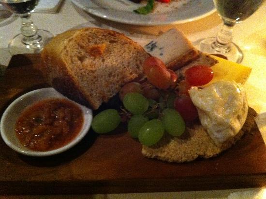 The Outsider Restaurant Go for the cheese plate & Go for the cheese plate - Picture of The Outsider Restaurant ...
