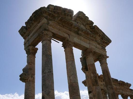 Apamea: Tetto del tempio