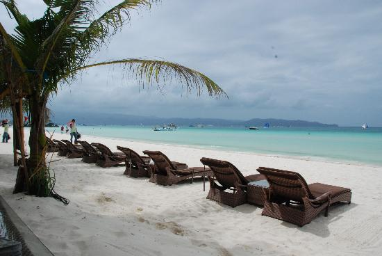 Beach Front Picture Of Ambassador In Paradise Resort Boracay