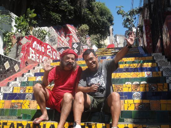 Brasil & Cia: El arte de selaron en rio