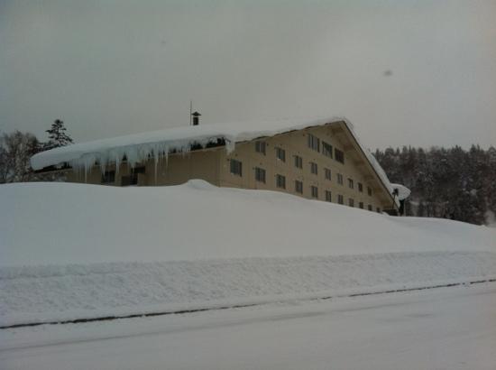 Grand Hotel Daisetsu : 冬の景色